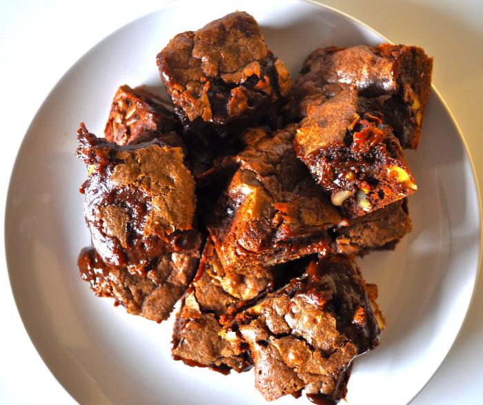 half baked brownies