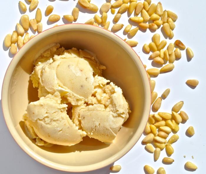 pine nut gelato