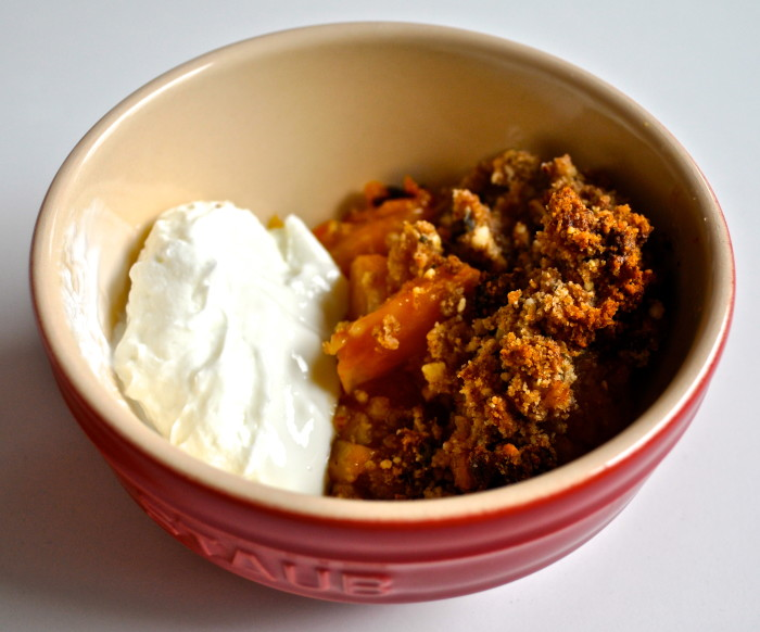 Apricot Rosemary Crisp Recipe | My Second Breakfast