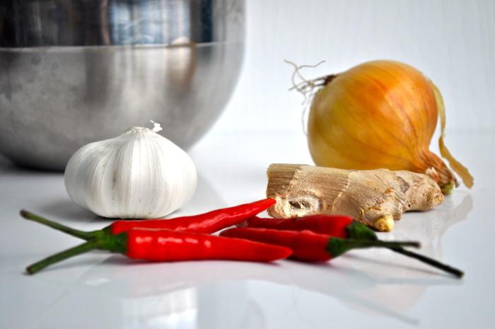 aromatics: black pepper tofu