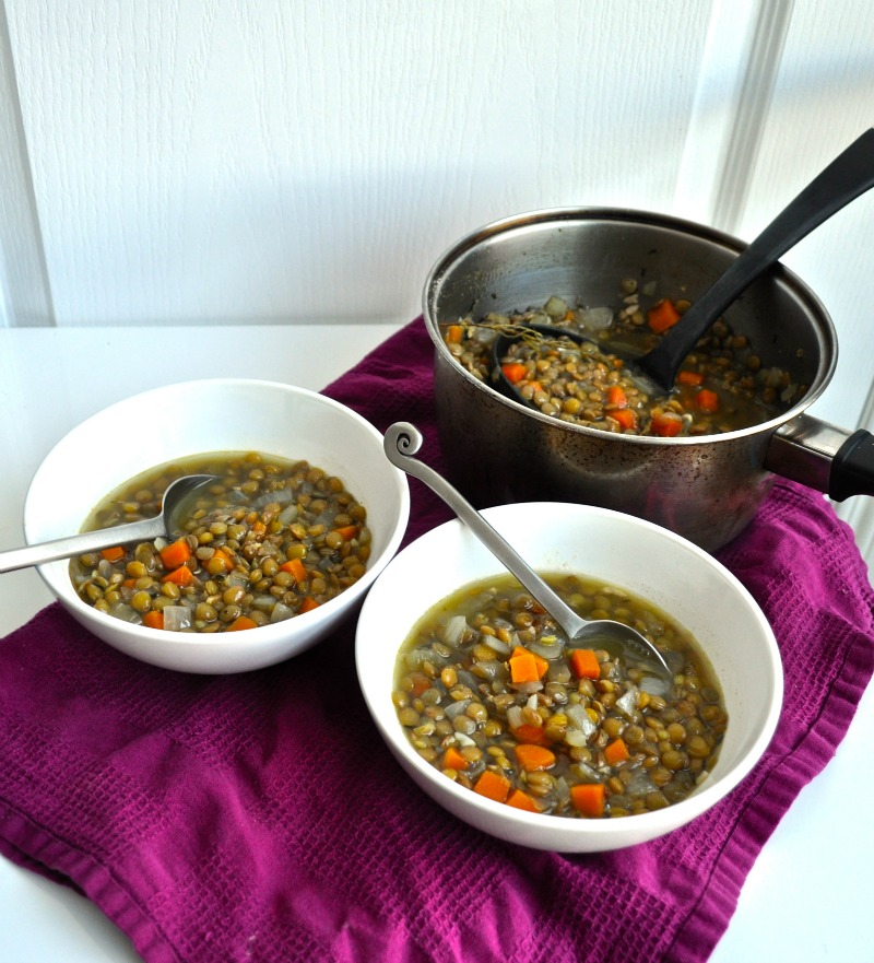 hot lentil soup