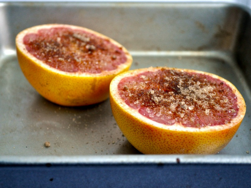 grapefruit to broiler