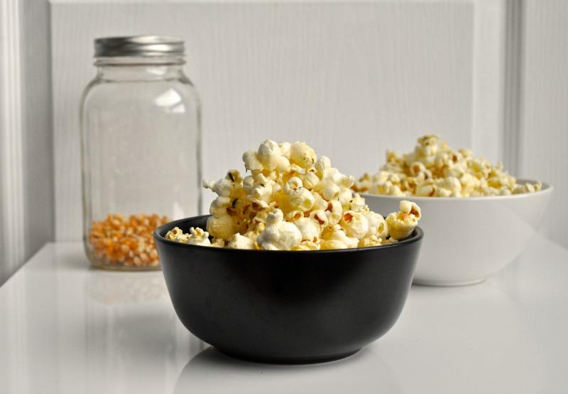 honey and rosemary popcorn