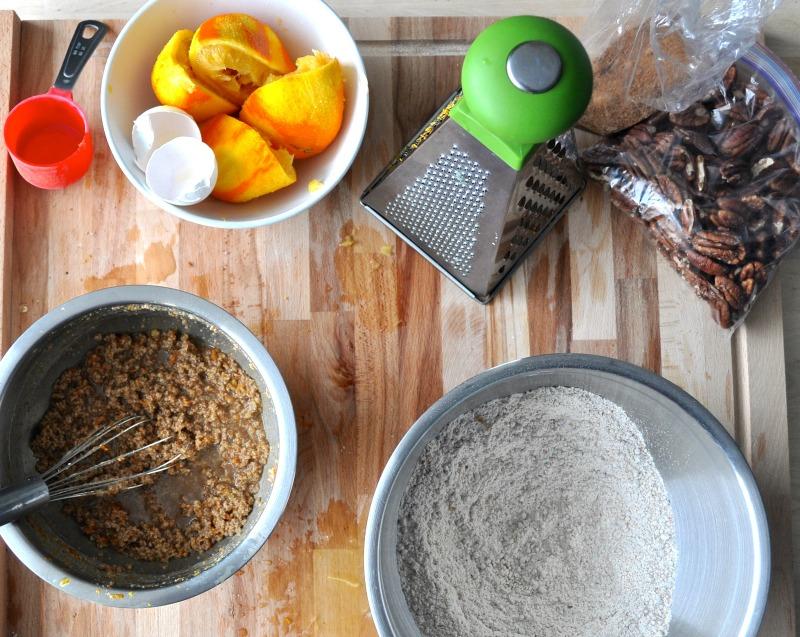 pecan orange spelt loaf