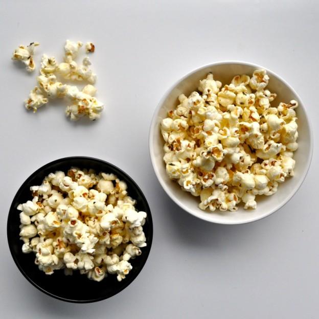 rosemary honey popcorn