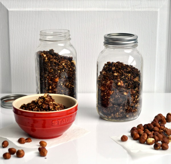 chocolate and hazelnut granola recipe