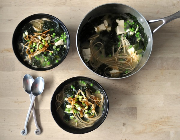miso soup meal