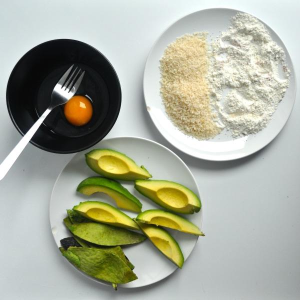 avocado batter station