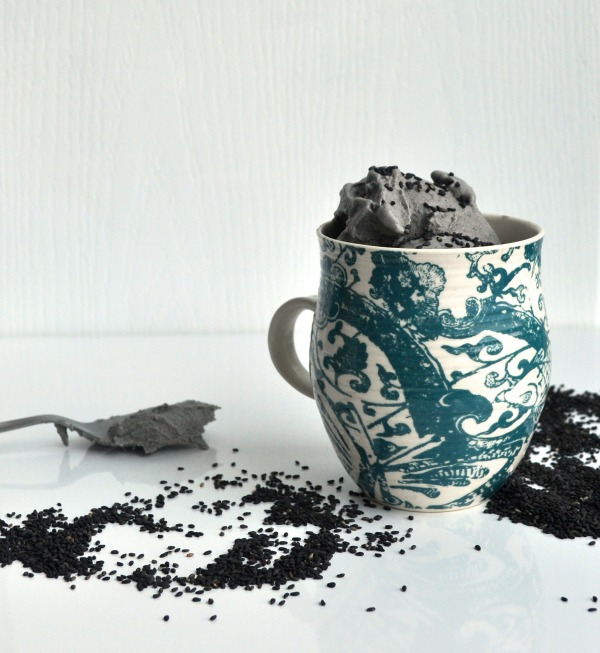 Black Sesame Ice Cream Recipe