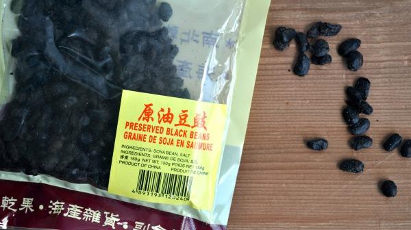 preserved black beans