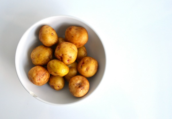 mini white potatoes