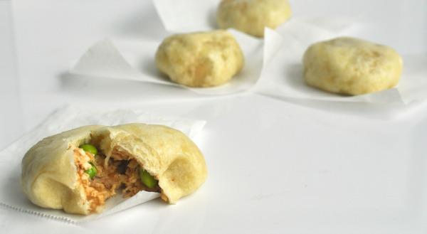 mushroom and tofu bao