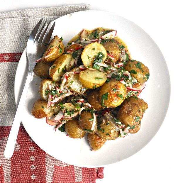 roasted potato salad recipe