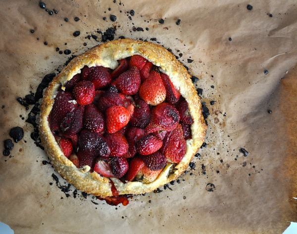 strawberry galette recipe