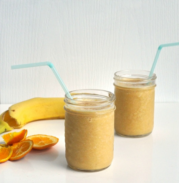 orange, sesame and banana smoothie recipe