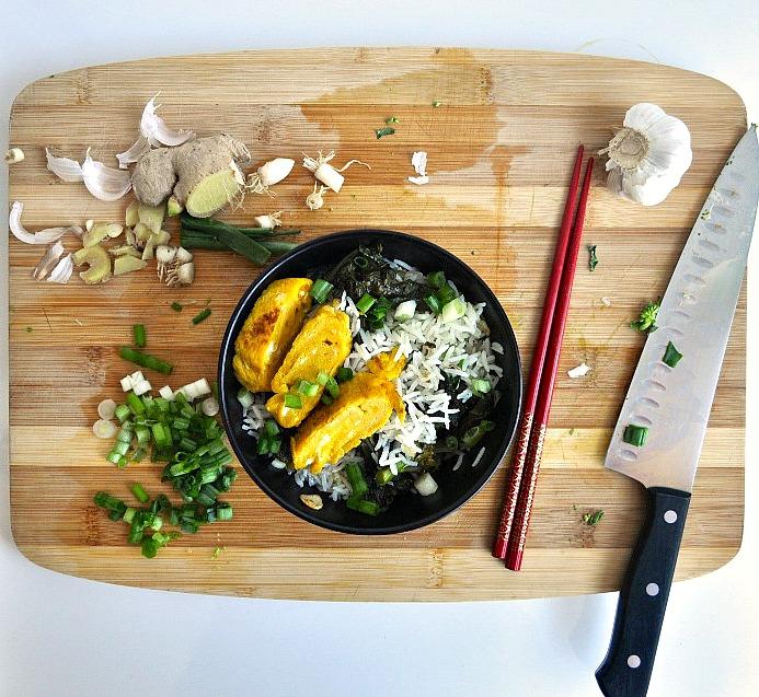 tamago fried rice