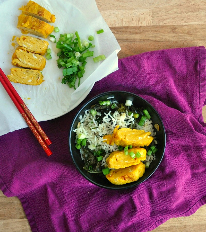 tamago on rice recipe