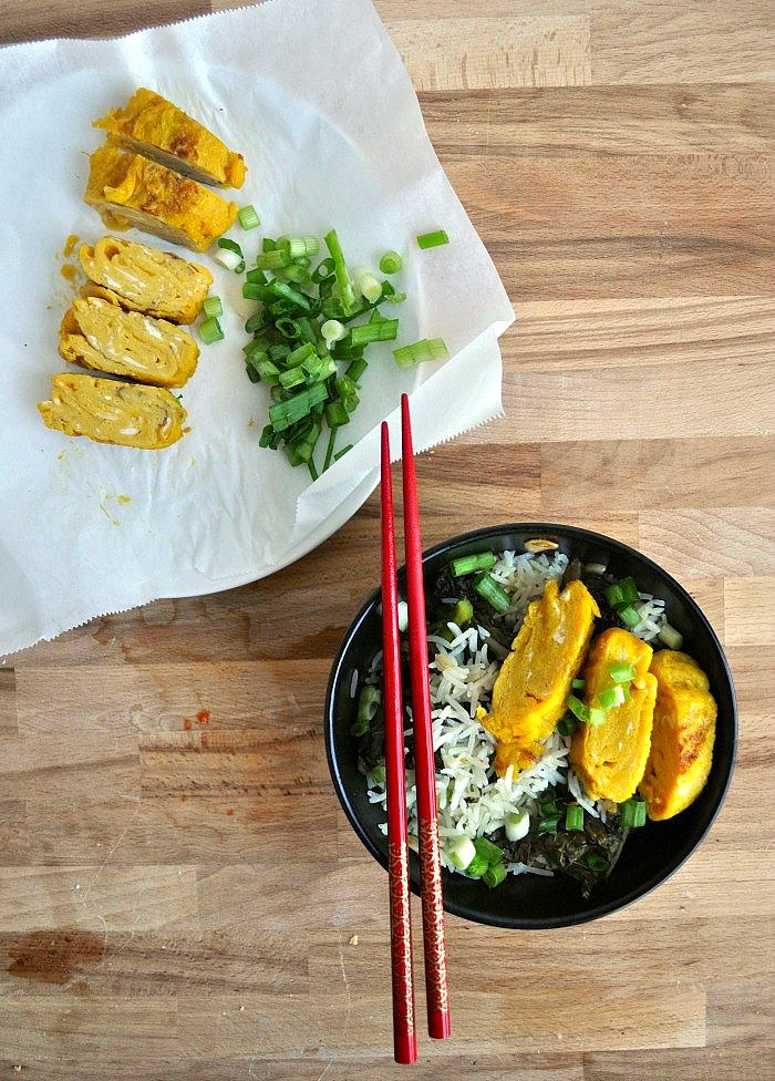 tamago on rice