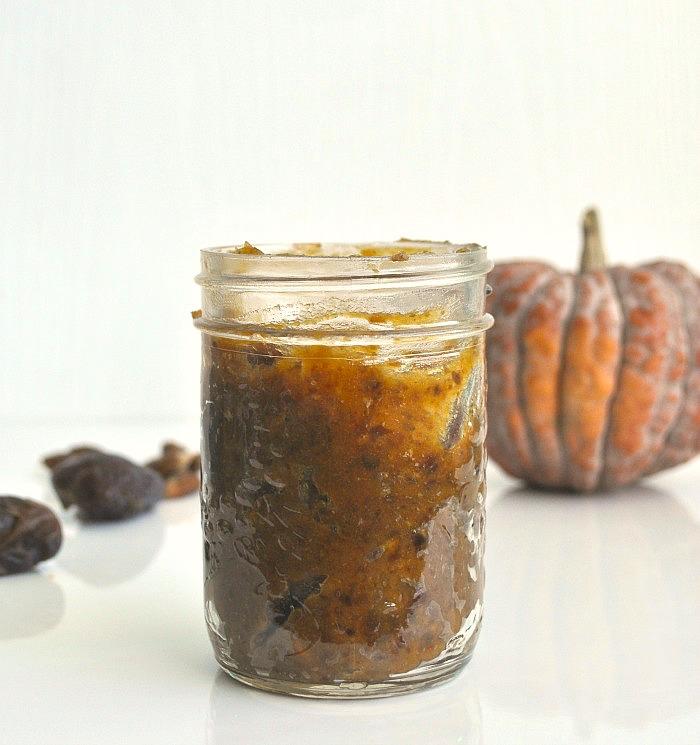 date pumpkin caramel