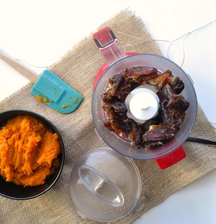 dates and pumpkin