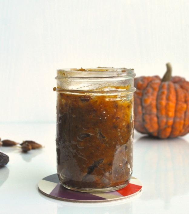 pumpkin and date caramel