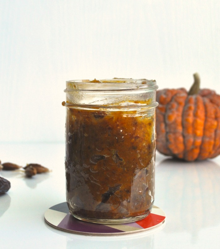 pumpkin and date caramel
