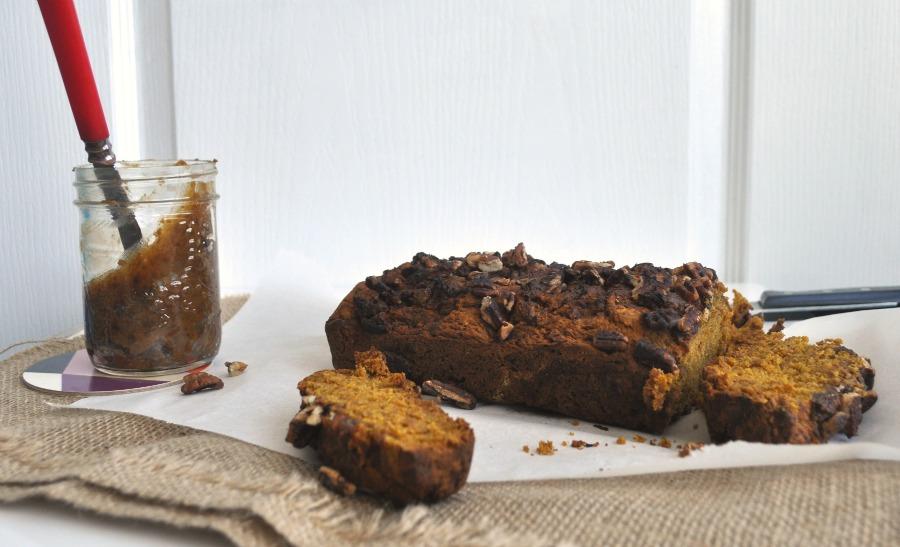 pumpkin and pecan loaf