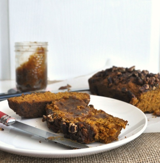 pumpkin pecan loaf recipe