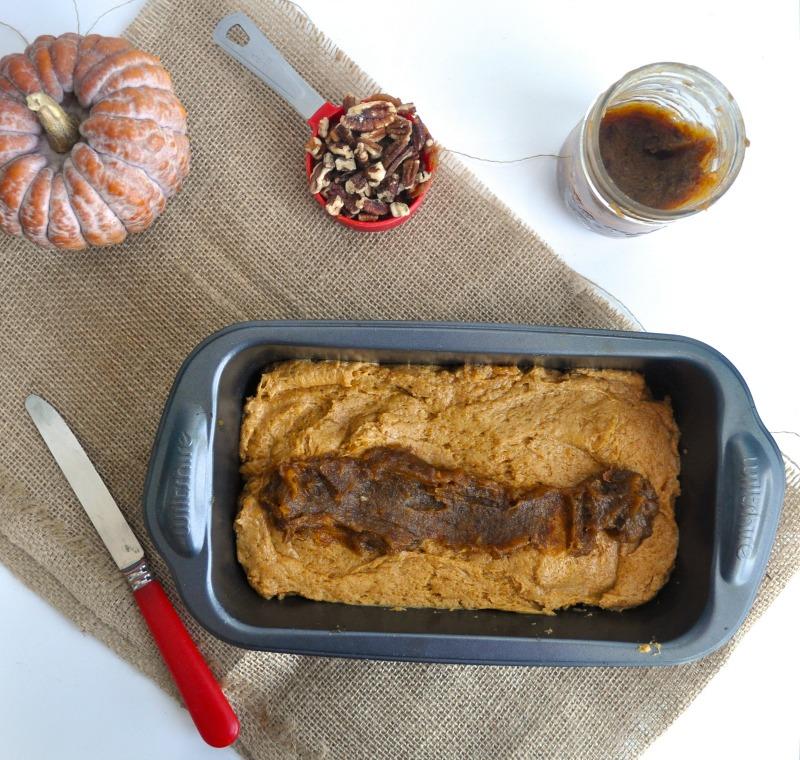 pumpkin, pecan loaf