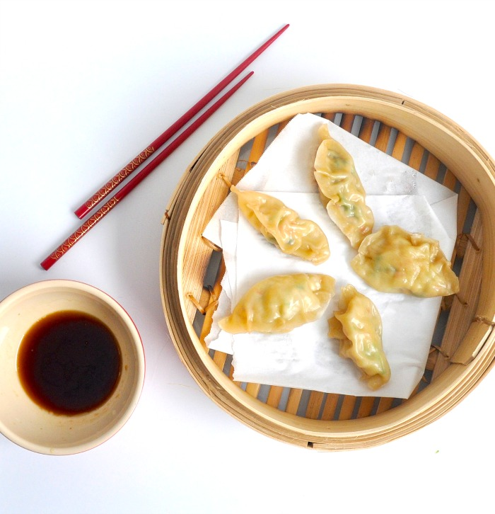 Asian Shrimp Dumplings Recipe — Dishmaps