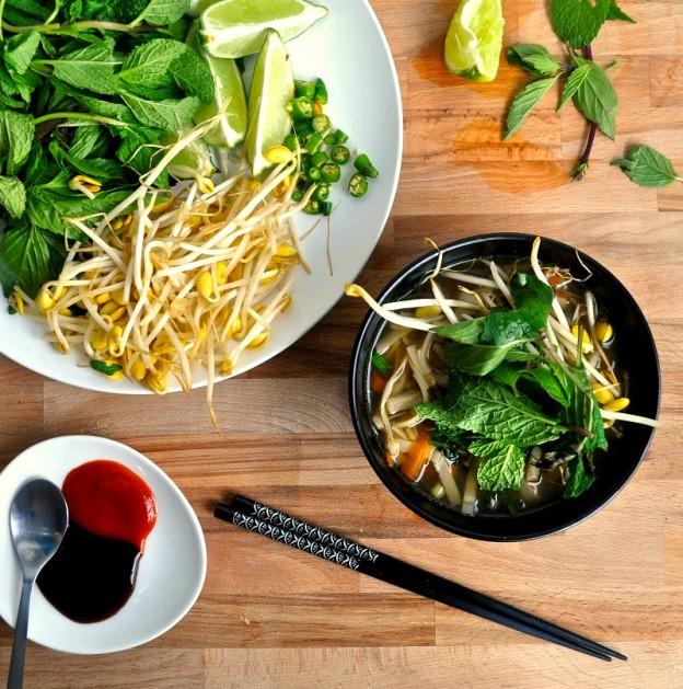 vegetarian pho recipe
