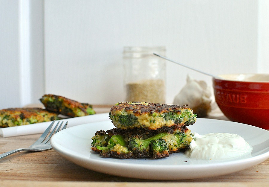 quinoa and brocolli patties