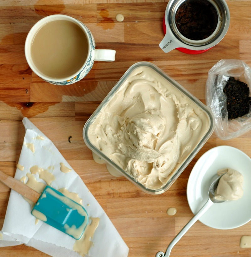earl grey tea ice cream