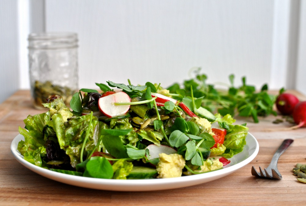 everyday green salad