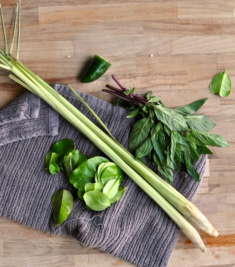 green curry aromatics