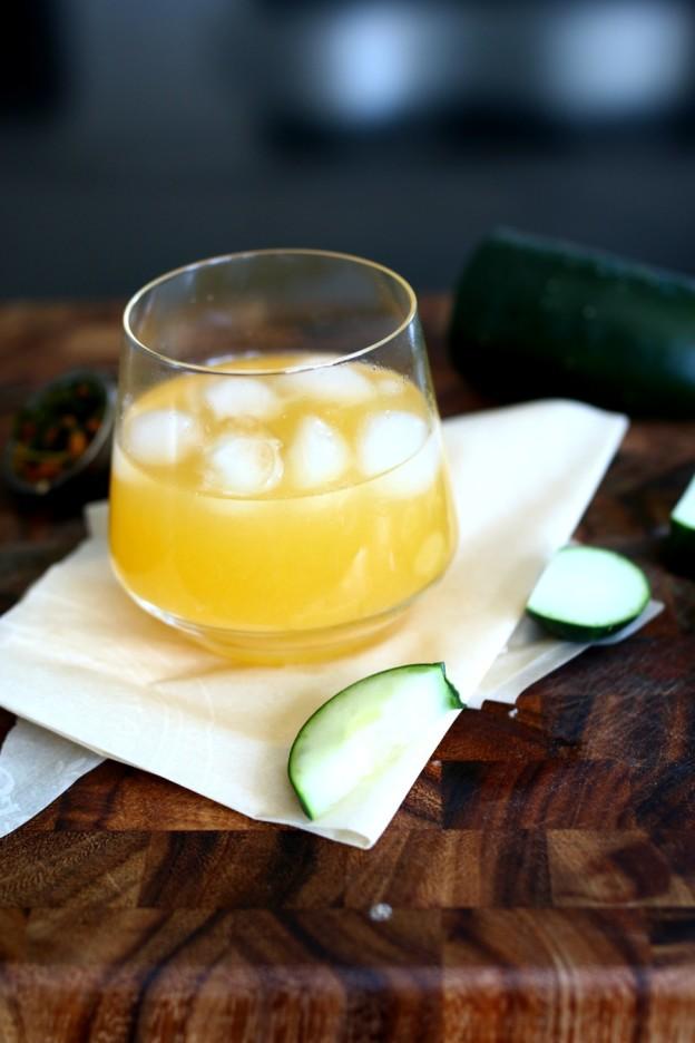 citrus green tea cocktail