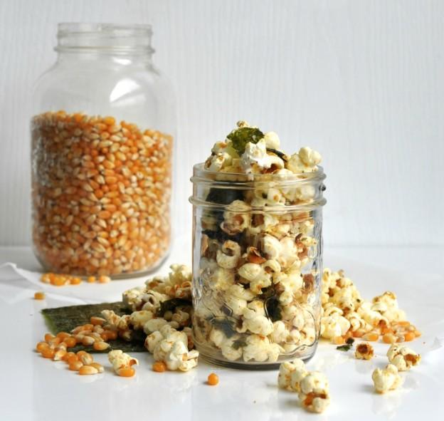 japanese inspired popcorn
