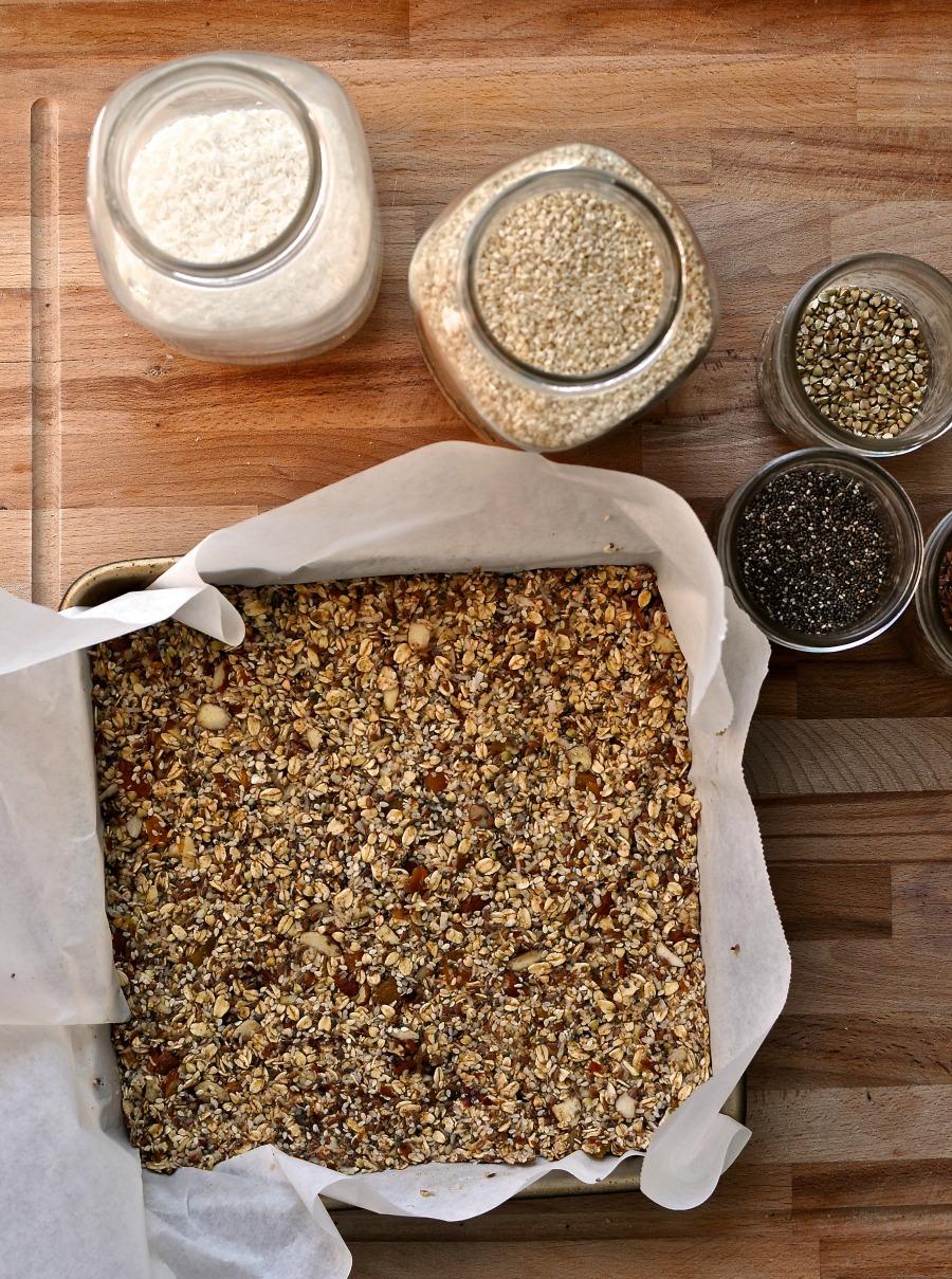 power packed granola