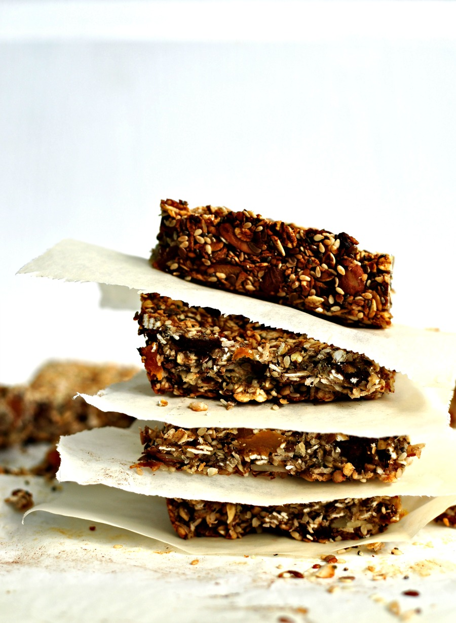 Power-Packed Granola Bars Recipe