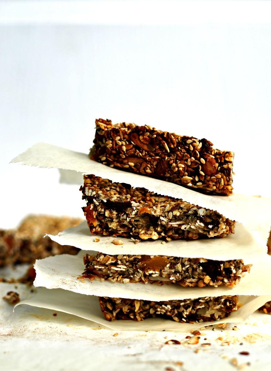 Power-Packed Granola Bars Recipe