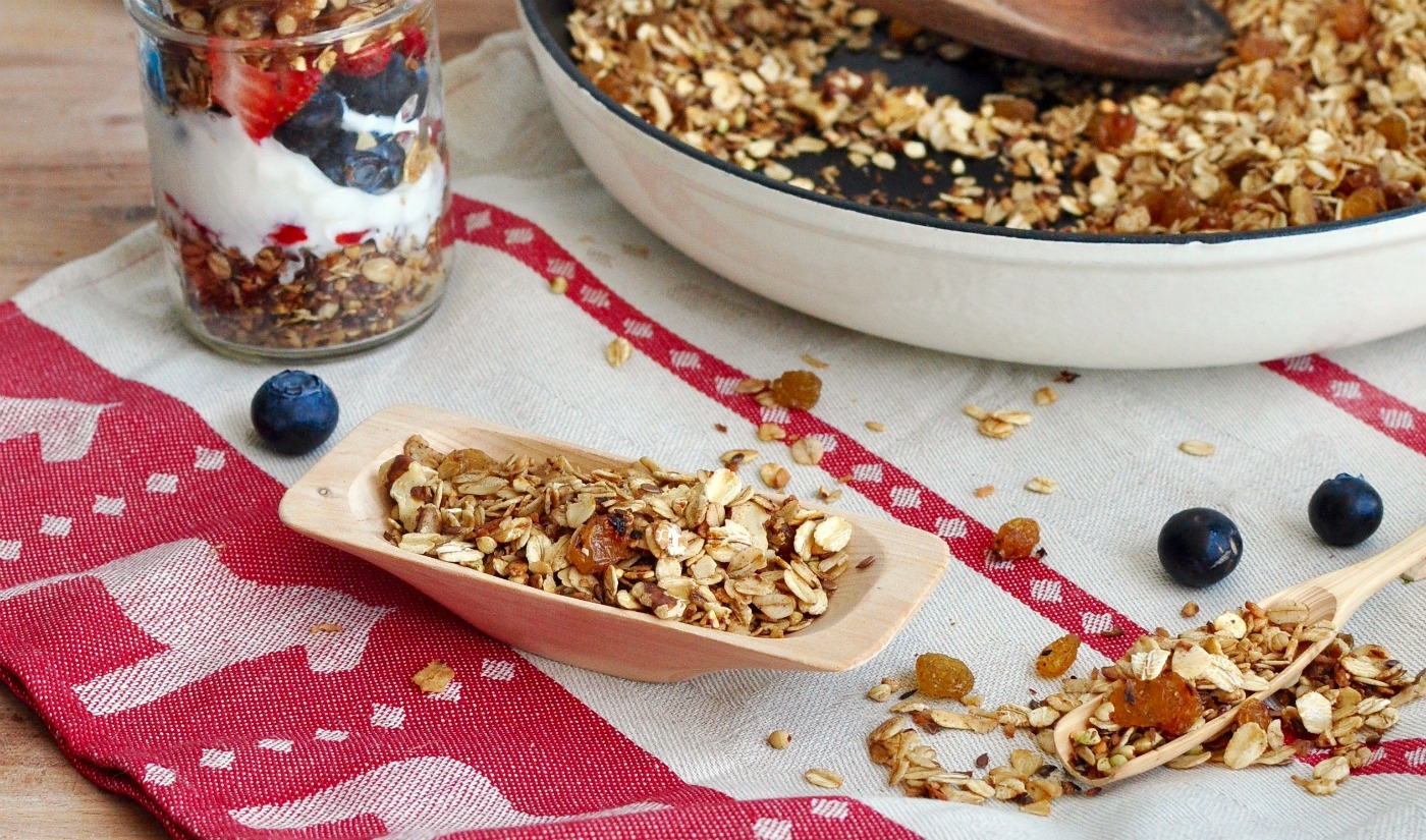 ten minute muesli