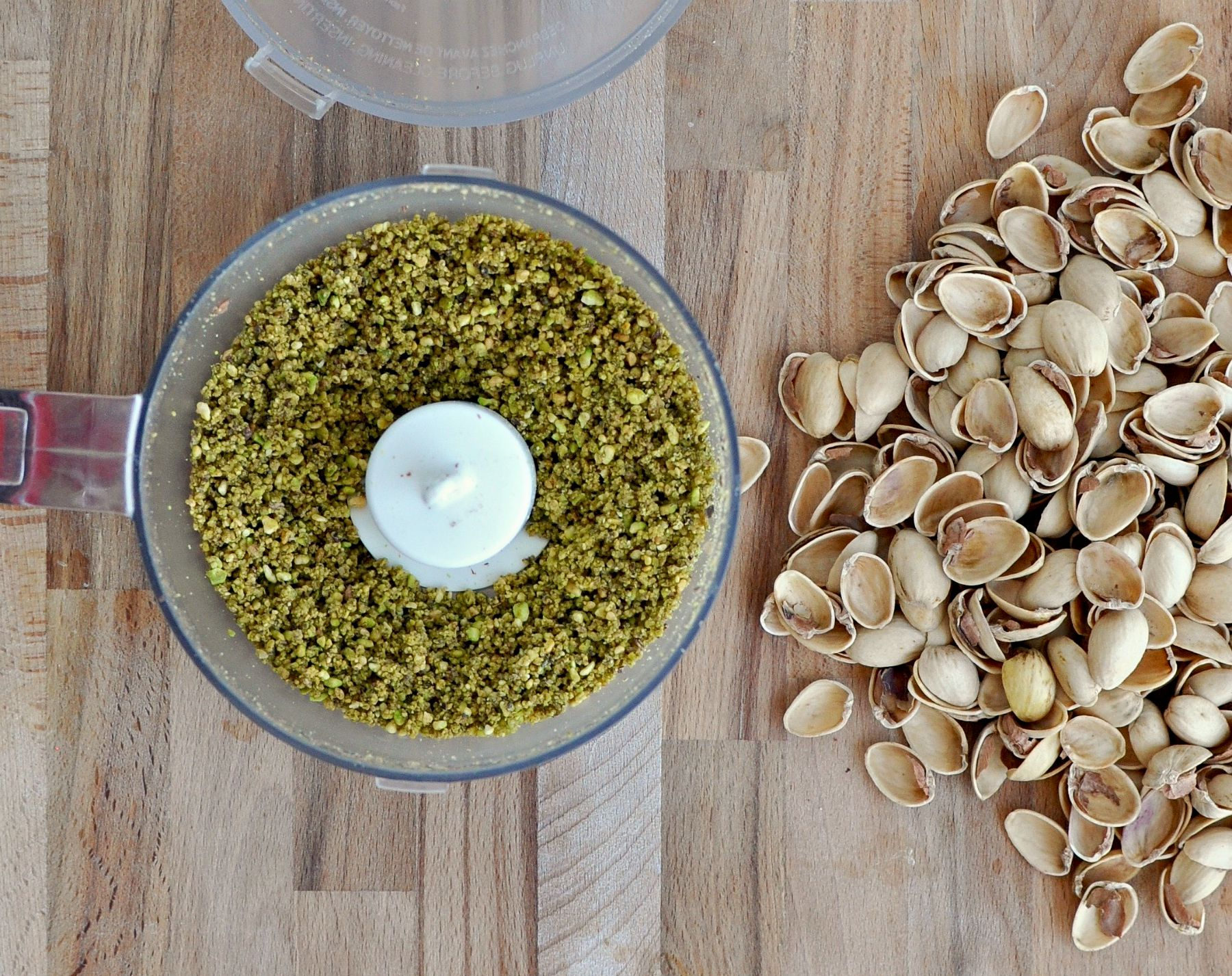 ground pistachios