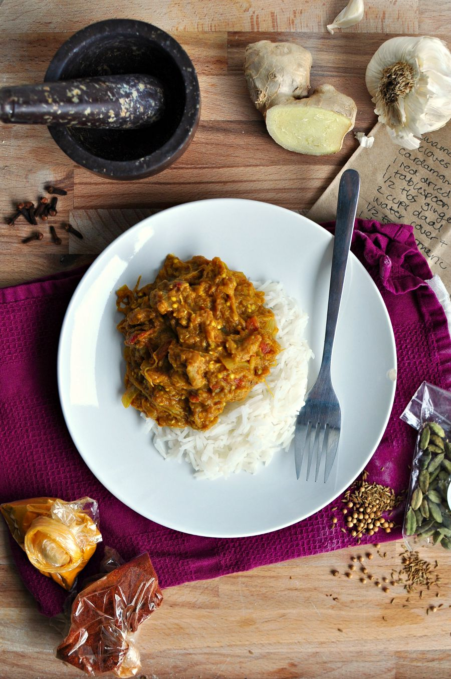 Baingan Bharta + An Indian Feast