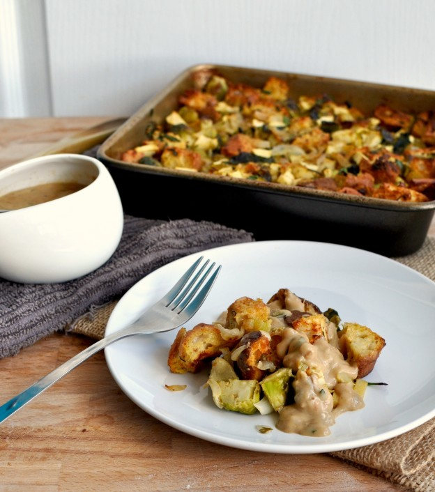 vegetarian stuffing and gravy