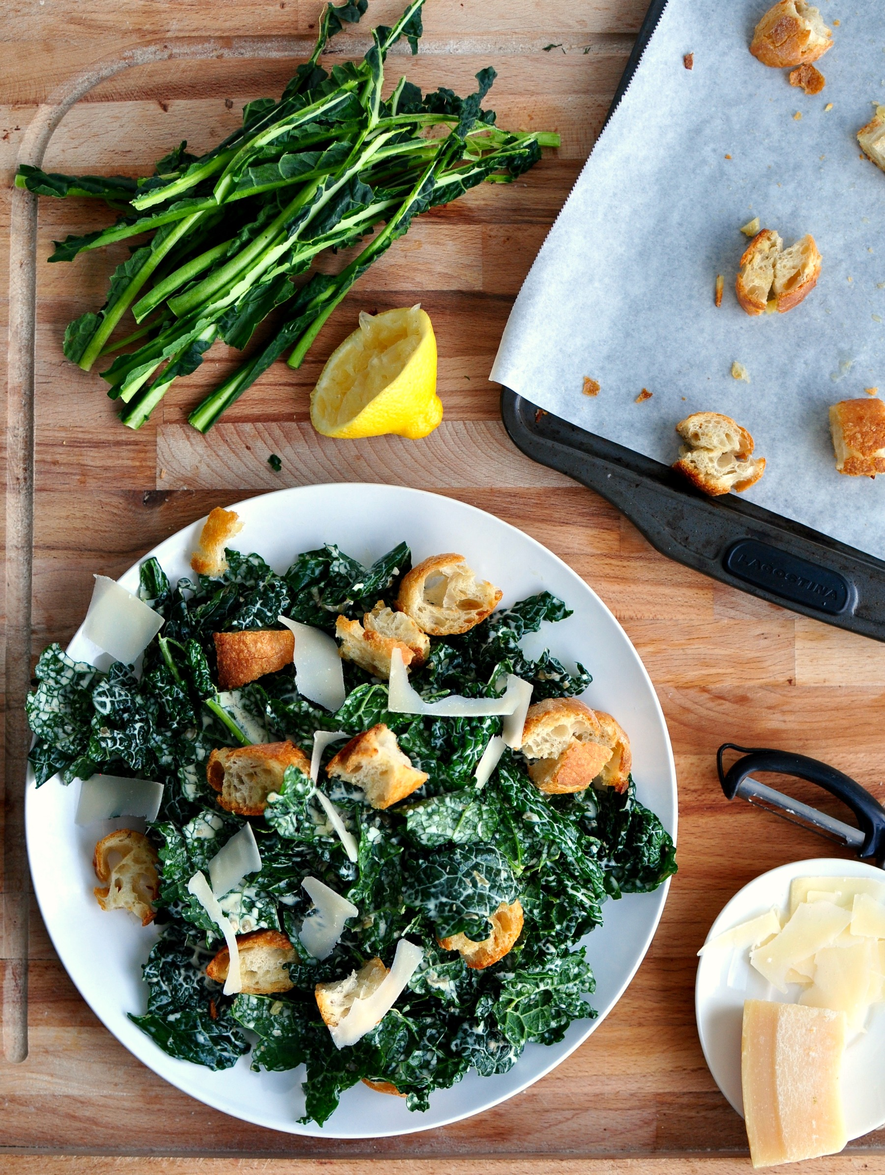 Kale Caesar Salad Recipe | My Second Breakfast