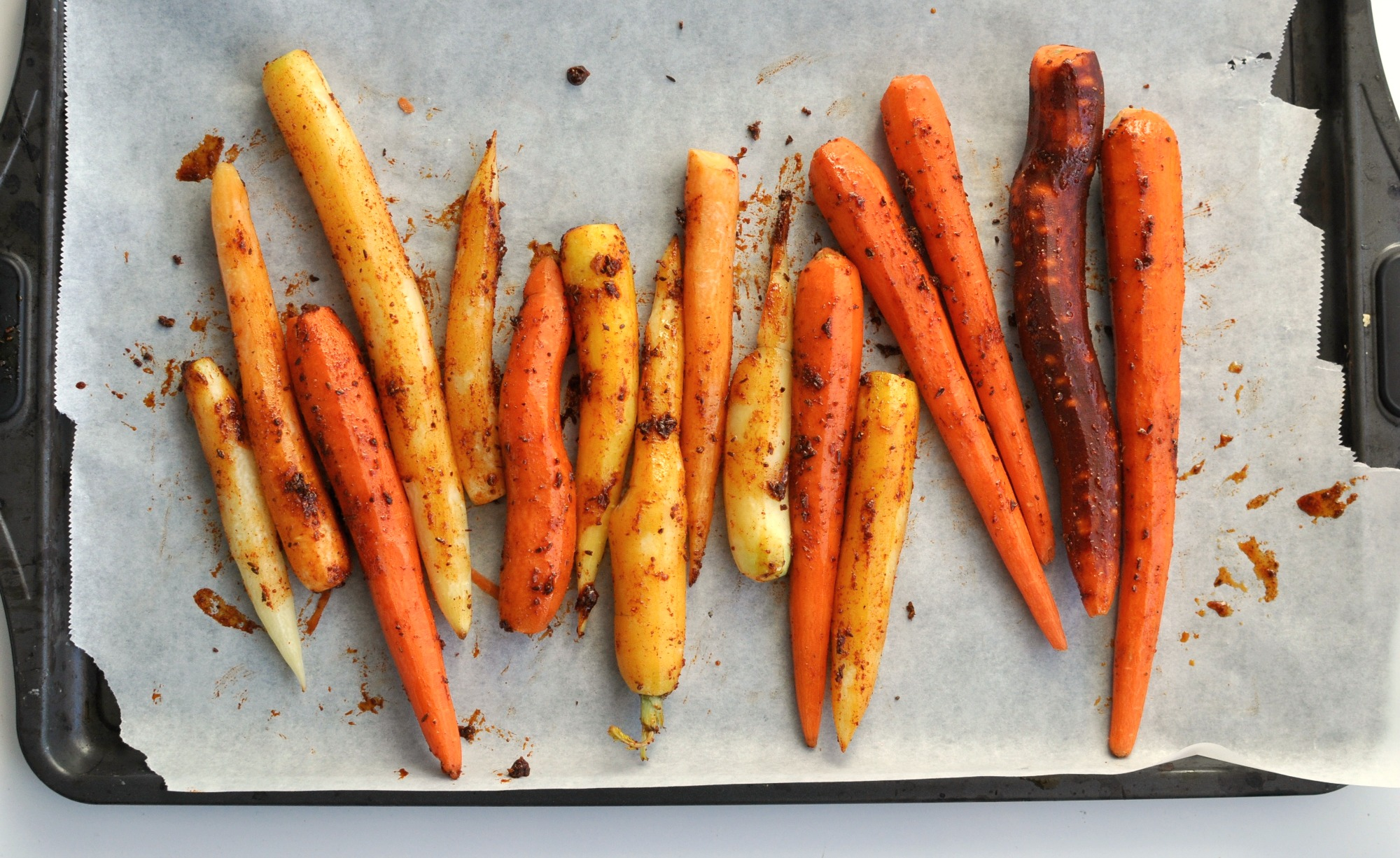 spiced roasted carrot