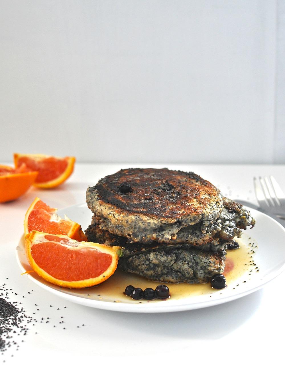 poppy orange pancakes recipe